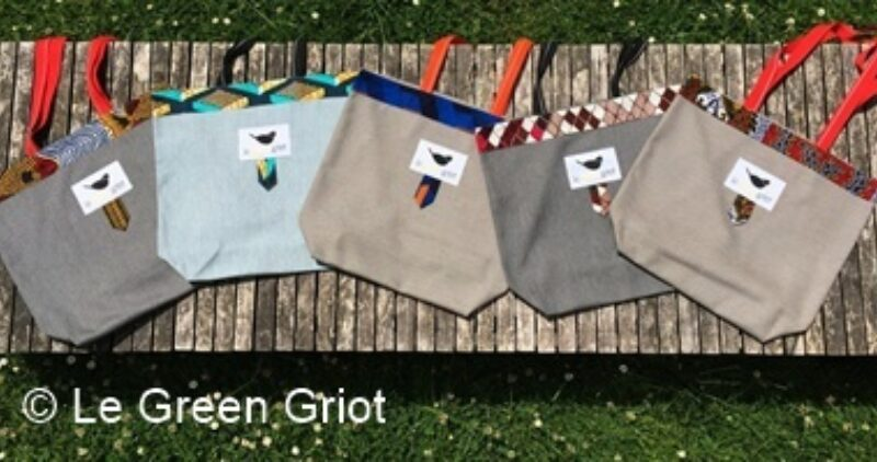 Le Green Griot Tote Bags 1C Crop